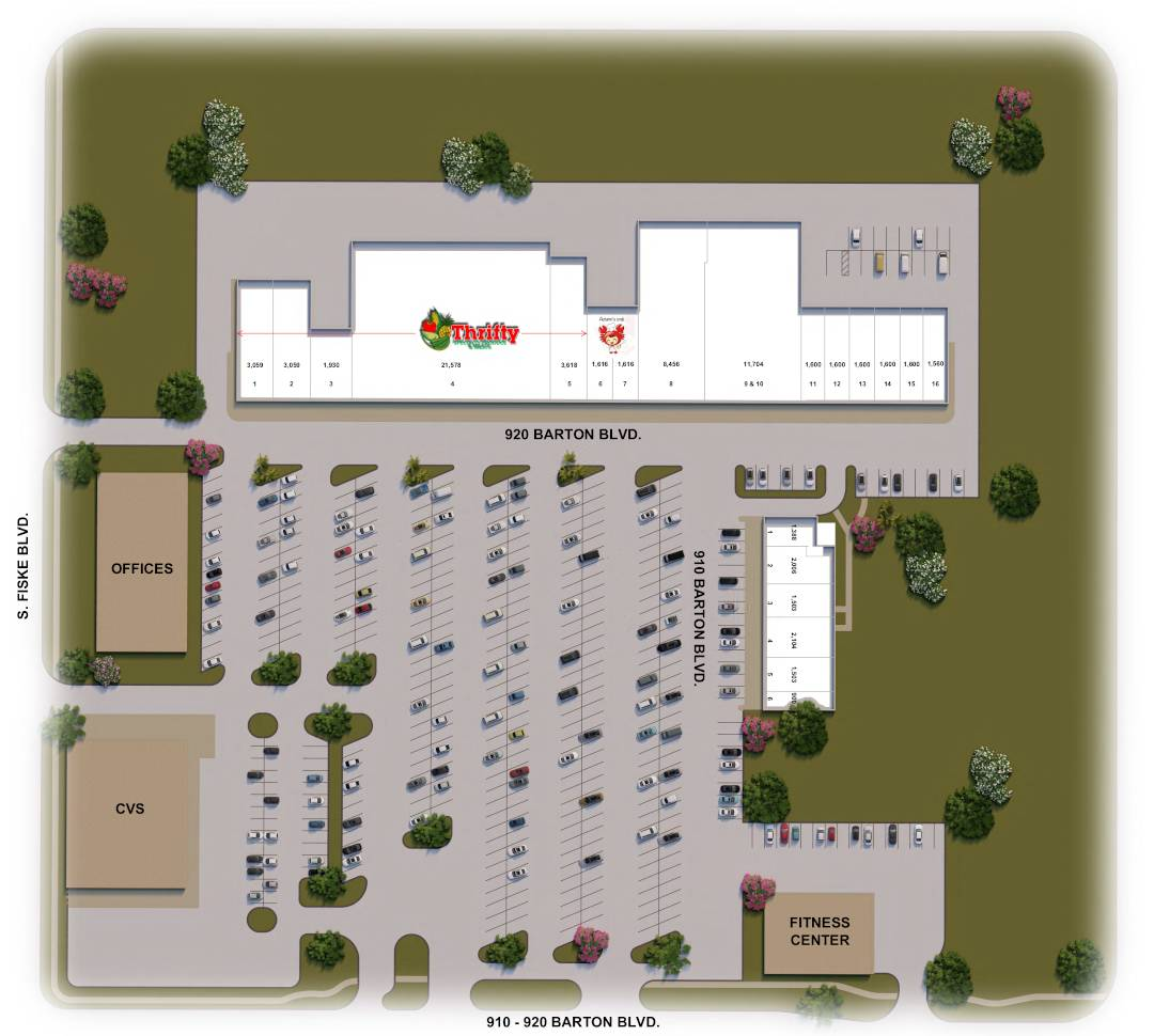 Rockledge City Center site plan